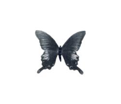 Farfalla spilla, ardesia e pastelli