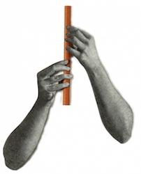 Suonatrice di flauto